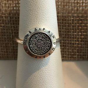 PANDORA Signature Pavé Ring